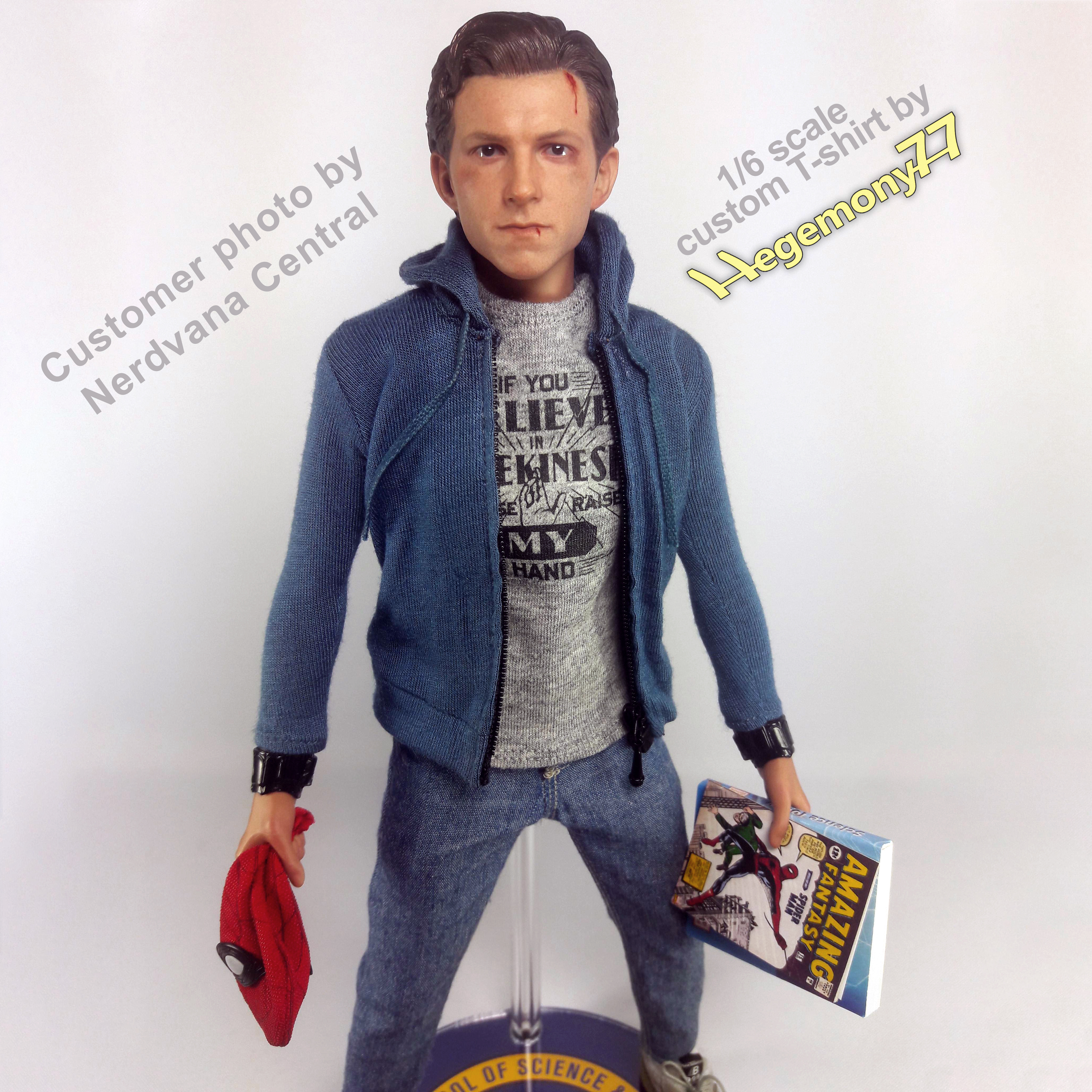 bef5a62b9 1/6th scale custom Spider-Man Homecoming Peter Parker – Hegemony77 ...